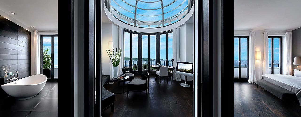 hotel cer s am meer auf r gen bietet ab sofort neuen ausflug mit luxusyacht an top. Black Bedroom Furniture Sets. Home Design Ideas